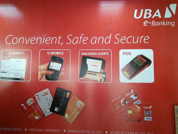 UBA's e-banking services
