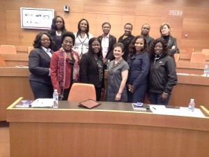 At IESE with a group of West African business leaders