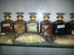 A sample of agricultural raw materials from Kenya