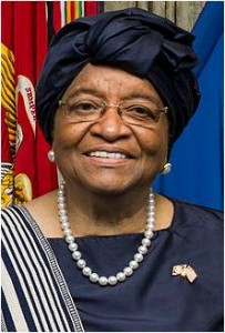 Ellen Johnson Sirleaf: 2011 Nobel Peace Nobel Prize laureate  Source: Wikipedia