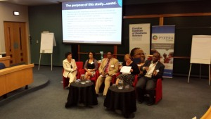 Panel discussion at the Joburg conference