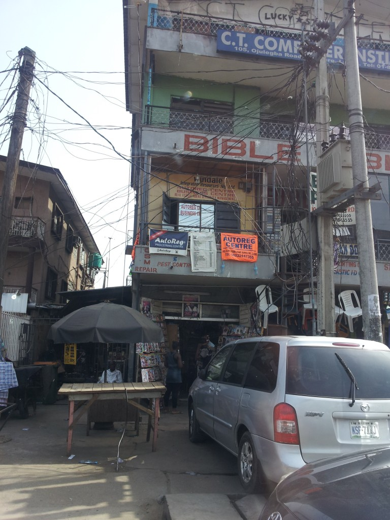 A middle-class neighborhood in Main Land Lagos