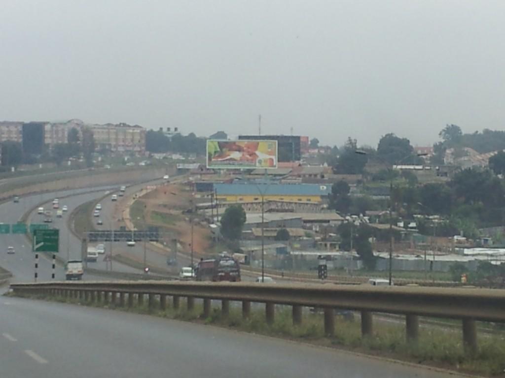 New highways in the vicinity of Naoribi