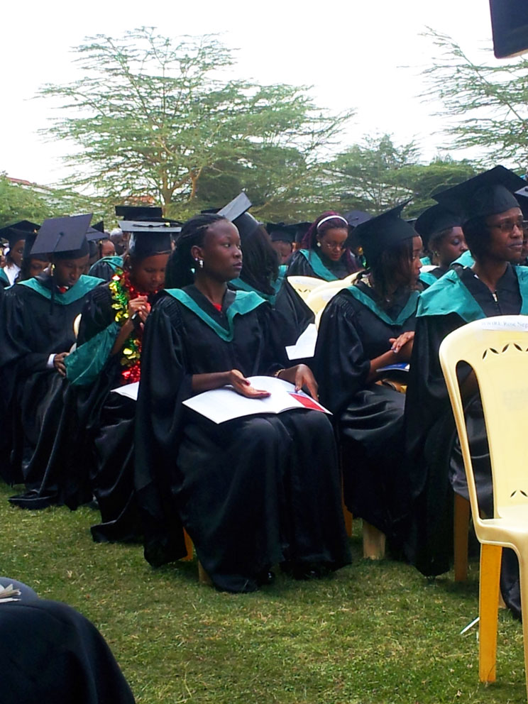 Graduation day at Strathmore University, Nairobi, Kenya