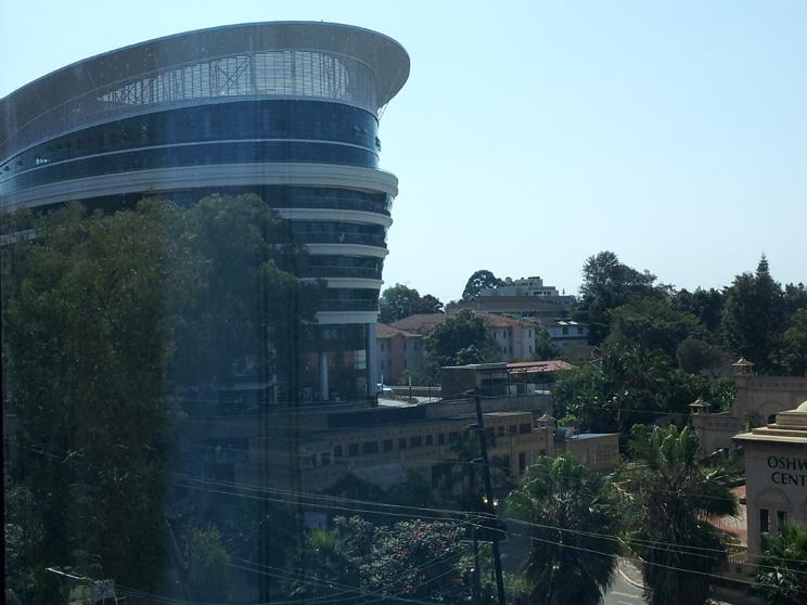 A view of Nairobi