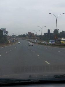 Kenya's road network has improved considerably