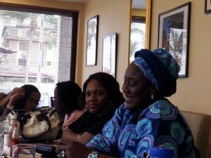 During an informal meeting with alumni from Lagos Business School