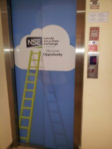 Elevator at Nairobi Securities Exchange