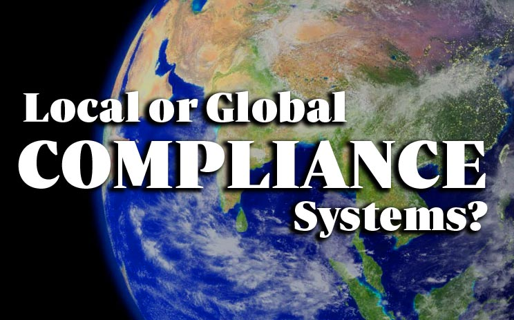 Compliance Systems should be homogenous or different?