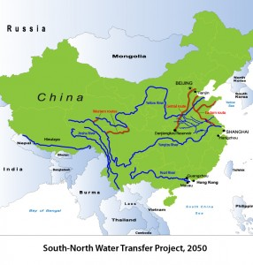 south-north-water-transfer-project-map