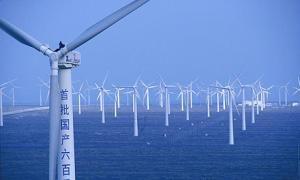 Dabancheng wind farm in Xinjiang province