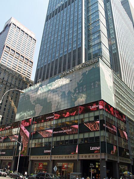 Lehman Brothers Rockefeller centre