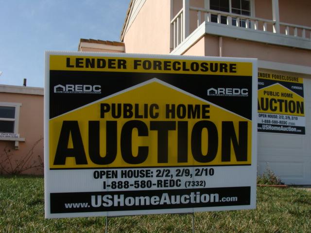 Half million dollar house in Salinas, California under foreclosure. Photo: Brendel.