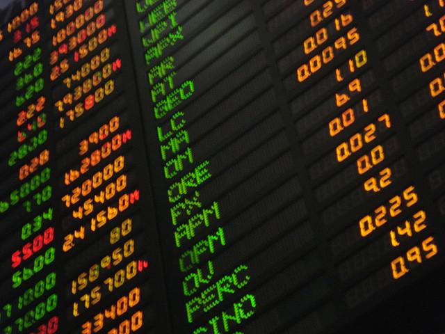 Philippine stock market board. Phtoto: Katrina Tuliao