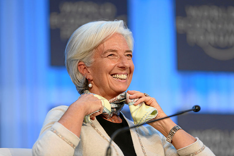 Christine Lagarde, Managing Director, International Monetary Fund (IMF). Source: Flickr/WEF