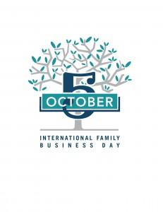 Logo Día de la Empresa Familiar inglés