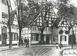 Residencia de la familia Bertelsmann en 1829 y primera sede de la empresa. Imagen: Web de Bertelsmann