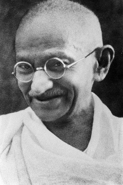Mohandas K. Gandhi, probably late 1930s