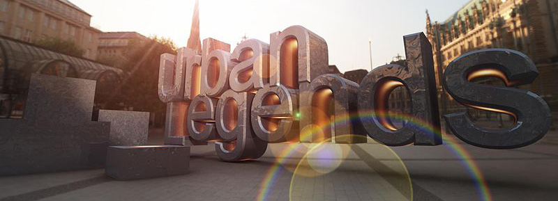 One of Team Urban Legends' logos, by Asbjørn E. Enemark