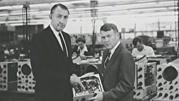 Dave Packard and Bill Hewlett. Courtesy of the HP Company