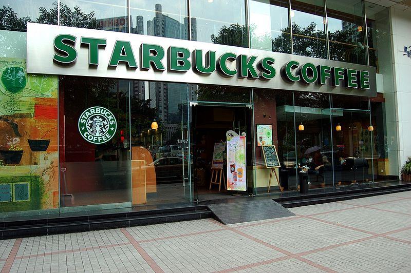 Starbucks Coffee Shop in Guangzhou, China. Photo by Peter Rimar