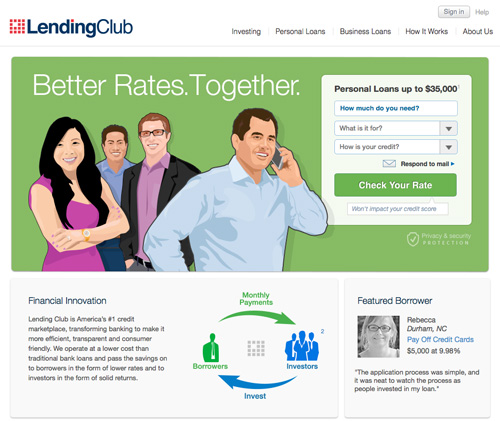 Lending-Club-Website