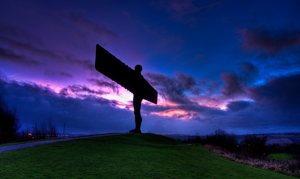Angel of the North (Newcastle), by Wilka Hudson