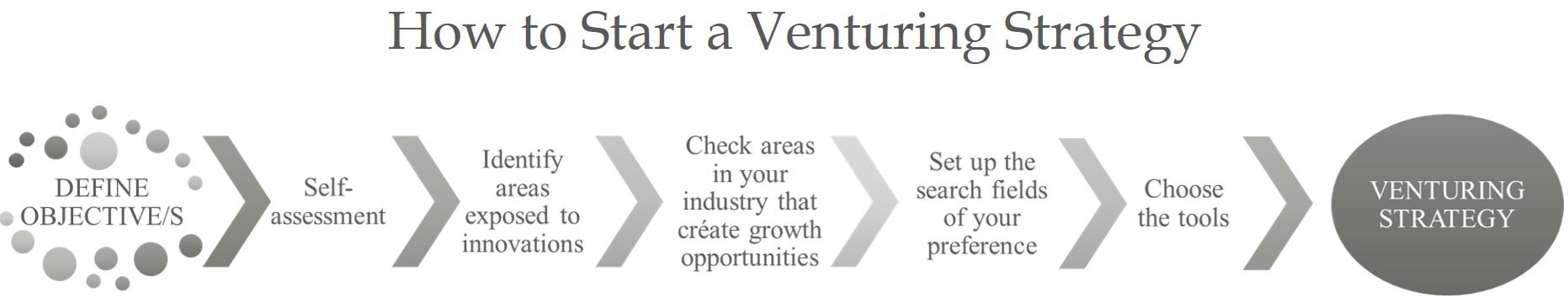How to start a Venturing Strategy