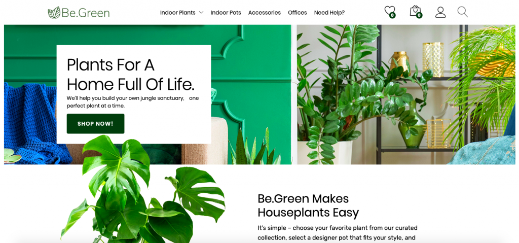 Be.Green's home page