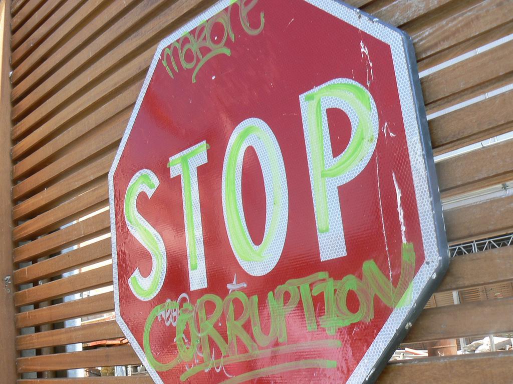 Stop Corruption, by kmillard92.