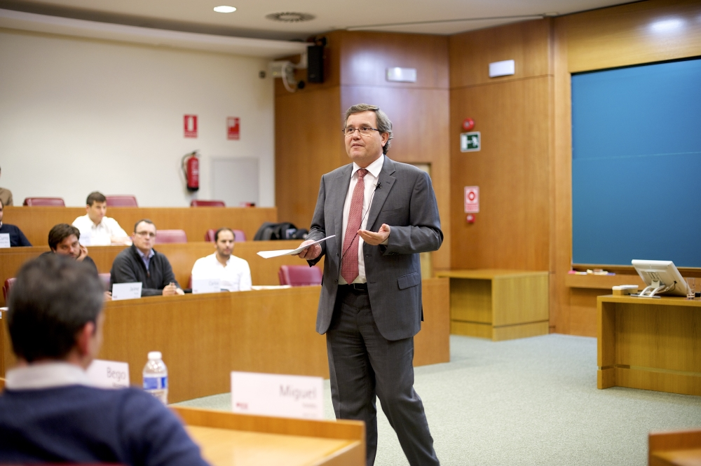 Ricardo Currás (Dia) at IESE