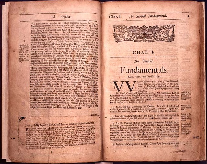 The Book of the General Laws of the Inhabitants of the Jurisdiction of New-Plimouth.