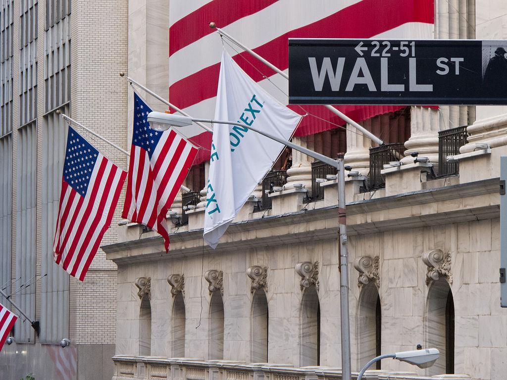 New York Stock Exchange, Wall Street, New York. Author: Carlos Delgado; CC-BY-SA