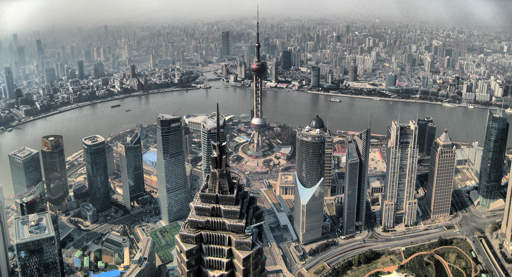 Shanghai View from SWFC. Source: Flickr/Joan Campderrós