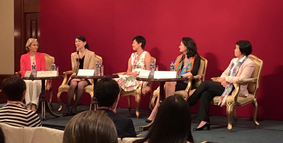 With Mari Kuchinishi Takayanagi, Emily Nason, Inma Diaz and Cindy Cheng