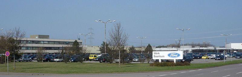 Ford Plant Saarlouis — in Saarlouis, the Saarland, Germany. Picture: Phrontis