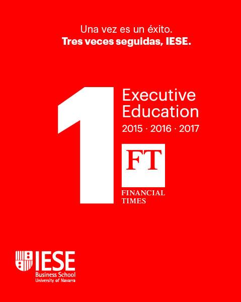Formación de directivos Ranking IESE número 1