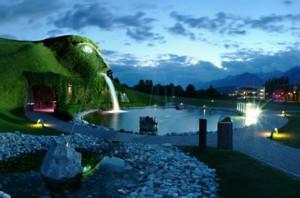 El parque temático Swarovski Kristallwelten. Imagen: Web de Swarovski