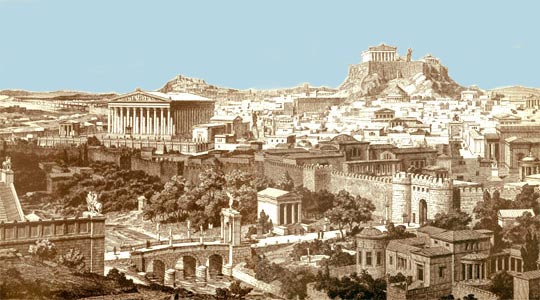 the history and development of greek art