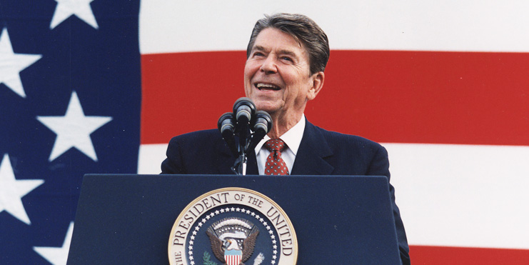 ronald reagan the great communicator essay Check out our top free essays on ronald reagan presidency outline to help you write your ronald reagan the great communicator our 40th president ronald reagan ronald wilson reagan was the 40th president of the united states of america following the unique path of careers of being a.
