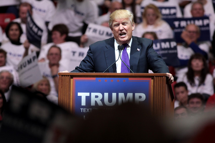REHTORIC Style of Donald TRUMP