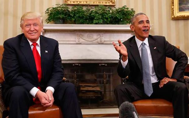 Trmp a new pragmatic president