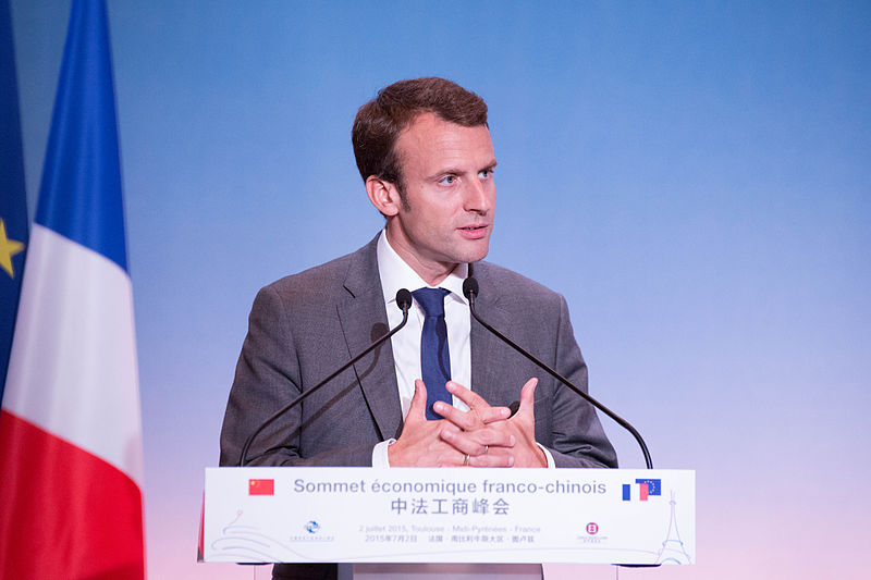 Macron, new french president