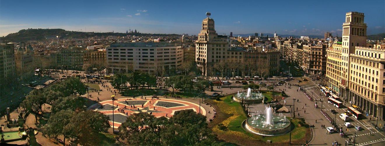 Pla a de catalunya the heart of barcelona iese mba blog - El corte ingles plaza cataluna barcelona ...