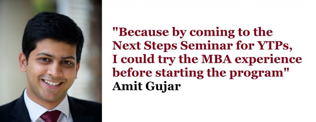 Amit Gujar YTP MBA