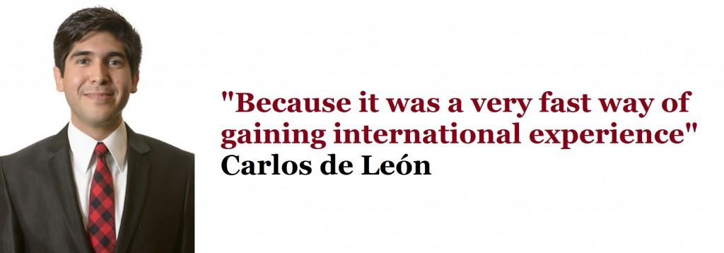 Carlos de León YTP MBA