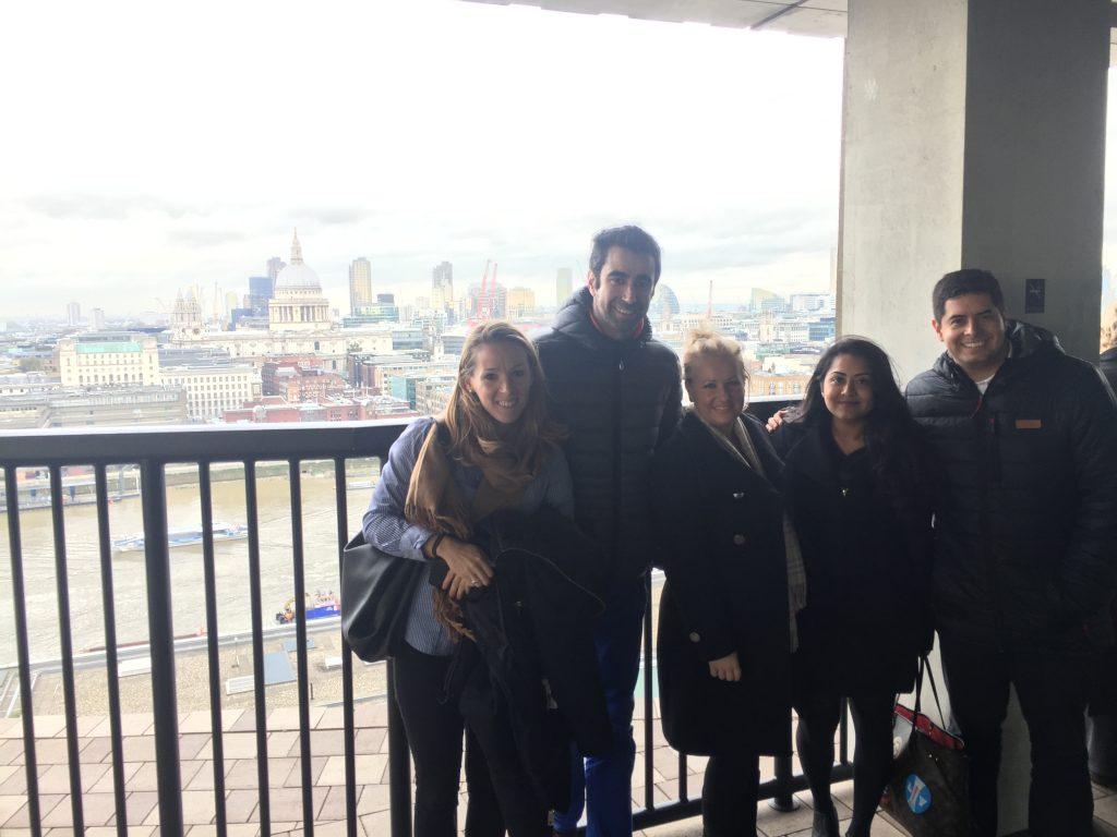 IESE London Marketing Trek between company visits