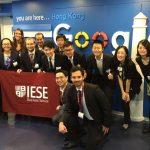 IESE China Trek kicks off at Google, Hong Kong