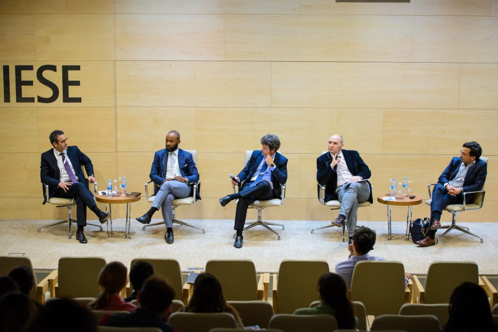 An engaging panel discussion during the Business in Emerging Markets Conference
