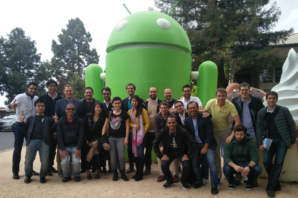 IESE Meets the Valley trekkers at Google campus